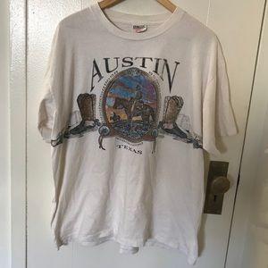 Vintage 90s Austin Texas t shirt single stitch